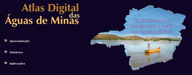 Conheça o Atlas Digital das Águas de Minas Gerais
