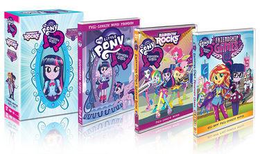 My Little Pony Equestria Girls DVD Box Set