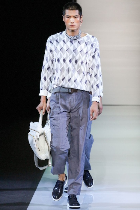 Giorgio Armani S/S 2013 Men's Fashion Photo-5