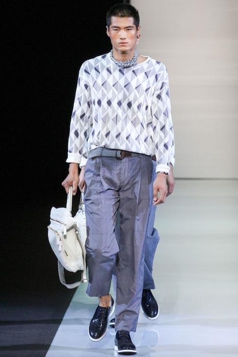 Giorgio Armani S/S 2013 Men's Fashion Photo-5