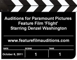 Paramount Pictures Flight Auditions Casting