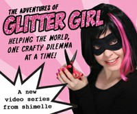 http://www.twopeasinabucket.com/gallery/projects/design-team-projects/videos/the-adventures-of-glitter-girl-video-series/
