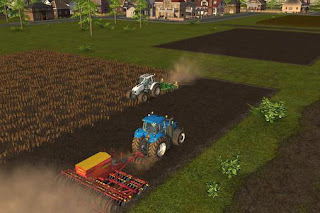 Screenshots of the Farming simulator 16 for Android tablet, phone.