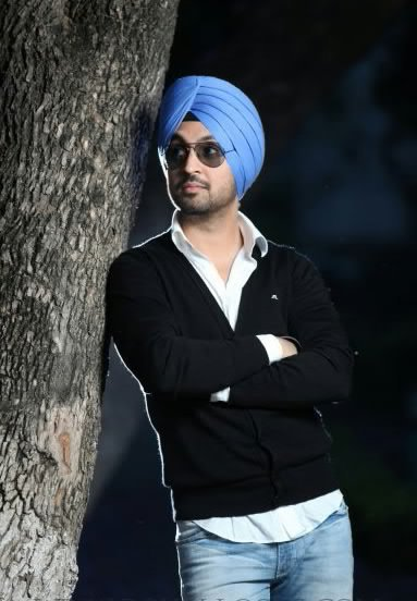 Diljit Dosanjh With tree