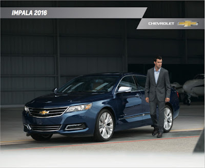 Downloadable 2016 Chevrolet Impala Brochure