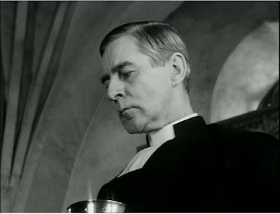 Gunnar Bjornstrand as The Pastor in The Winter Light, directed by Ingmar Bergman