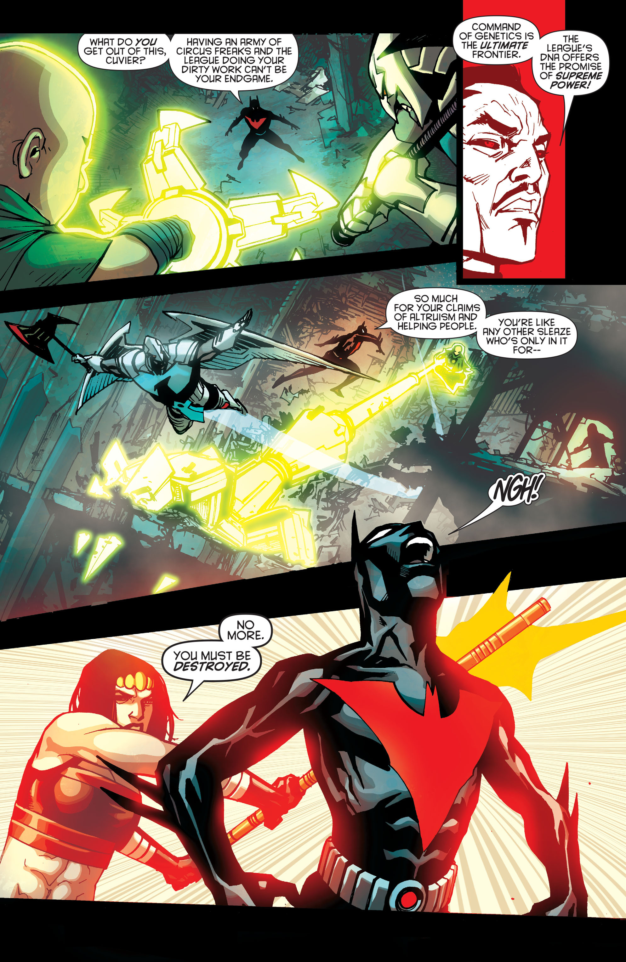 Batman Beyond (2015) Issue #10 #10 - English 21