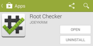 Check Root Access With Root Checker App