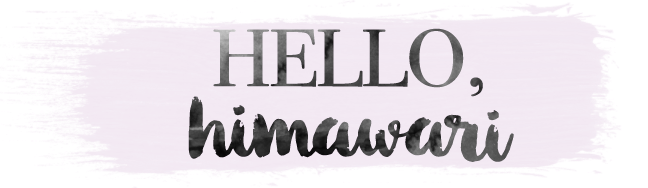 hello himawari  | a beauty blog