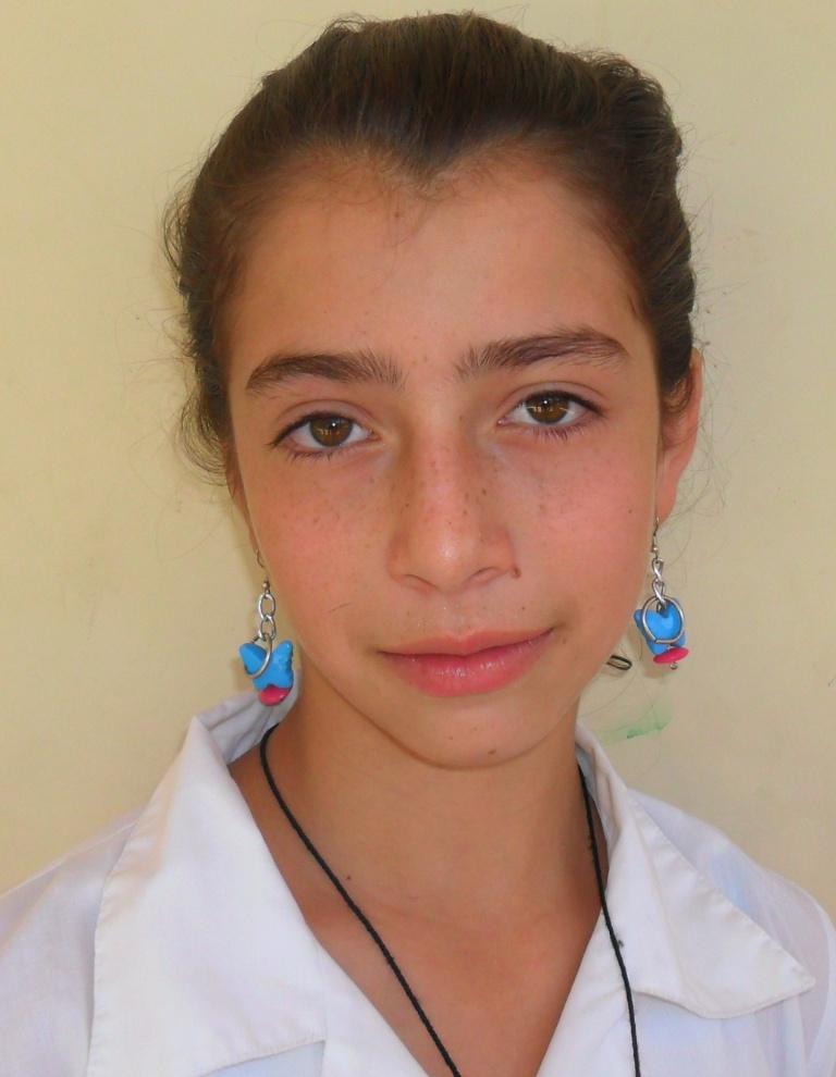 """LILIANA HENAO MONTOYA, estudiante de grado séptimo """"Son muy buenos"""