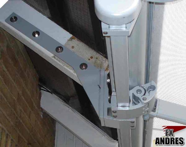 soportes a tejado directo fx y la protecci n solar
