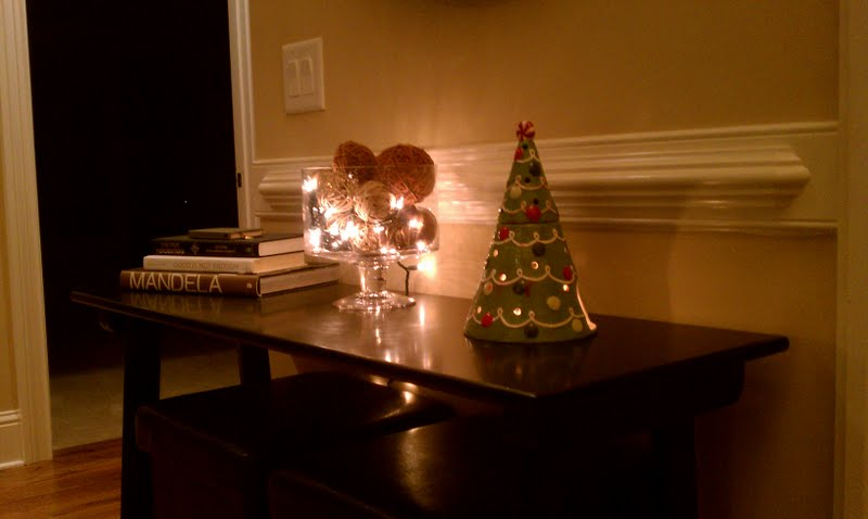 Trifle Bowl Decorations Magnificent Show Off Decorating The Entry Way Table Minor Update Design Ideas