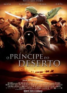"""Cartaz nacional de """"O Princípe do Deserto"""""""