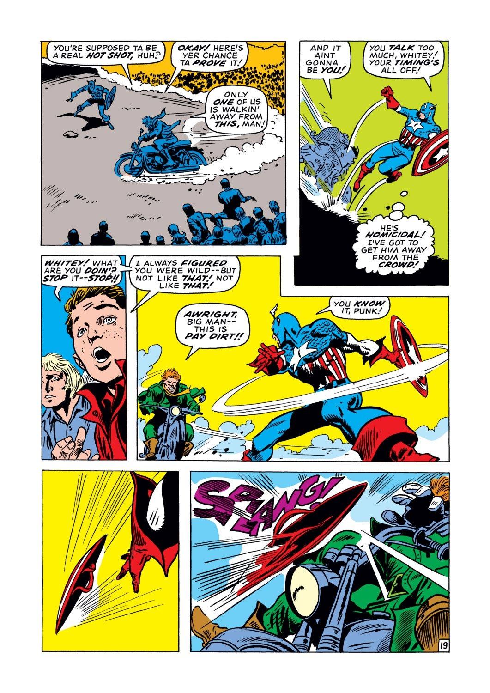 Captain America (1968) Issue #128 #42 - English 19