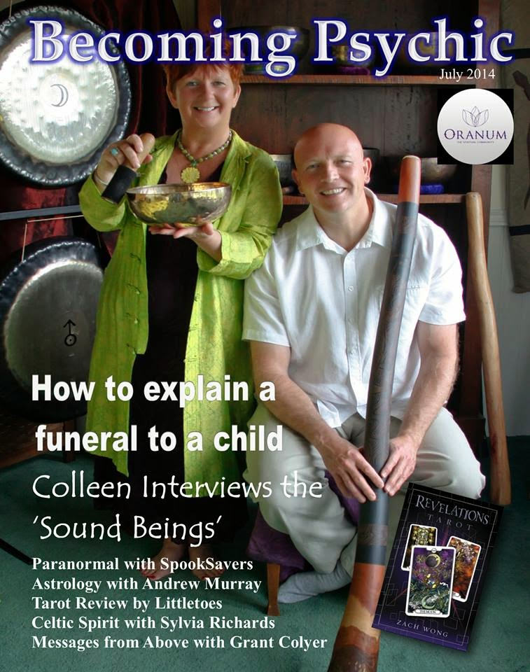Becoming Psychic Magazine - July 2014 Issue