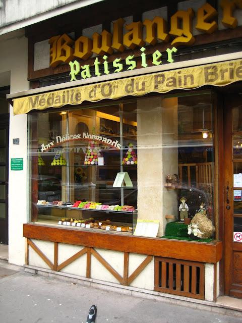 Boulangerie in Caen, France.