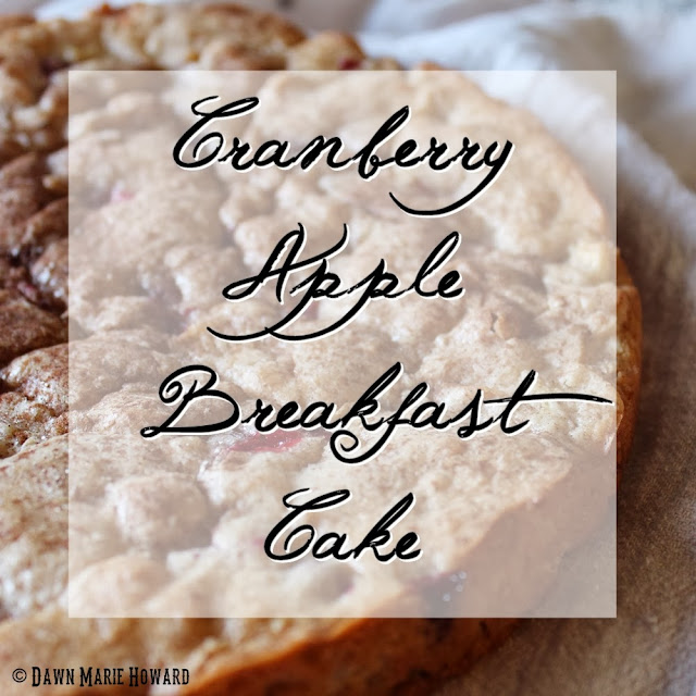 Apple Cranberry Breakfast Cake Recipe