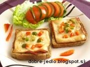 Februárový toast - recept