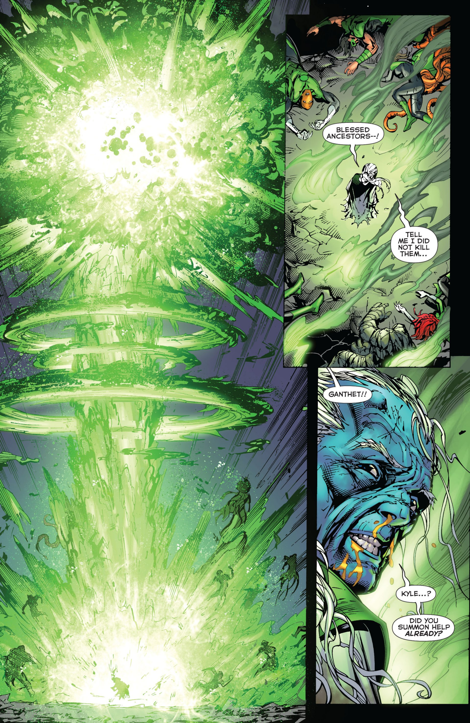 Read online Green Lantern Corps (2006) comic -  Issue #59 - 14