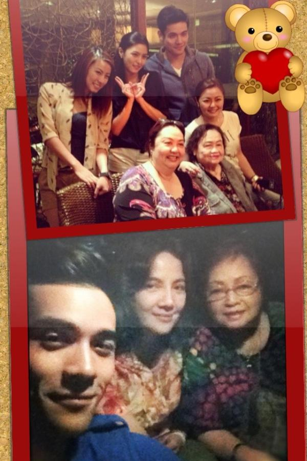 Chiu extended family and with his own Mom and GrandMama. We are family