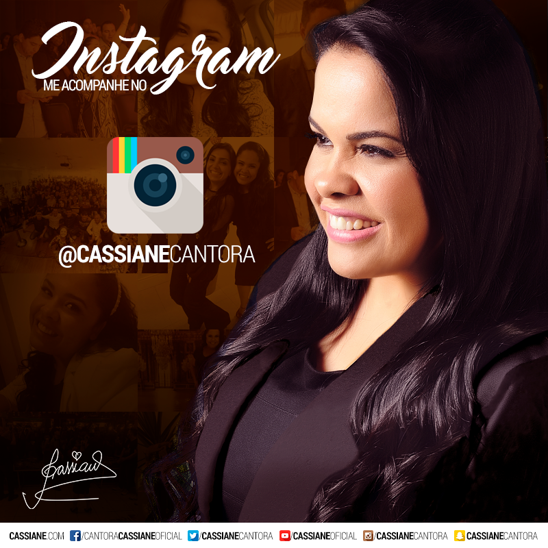 Instagram de Cassiane Click na Foto e Siga