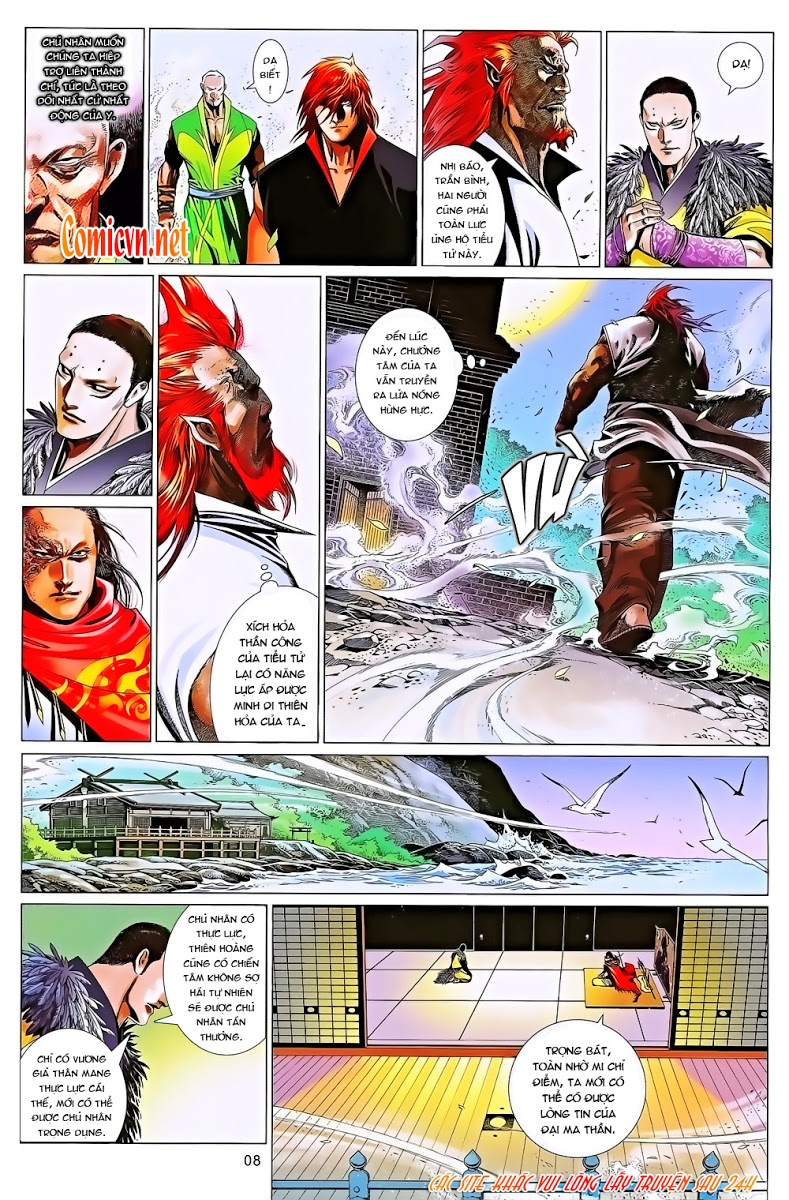 Phong Vân chap 643 Trang 8 - Mangak.info