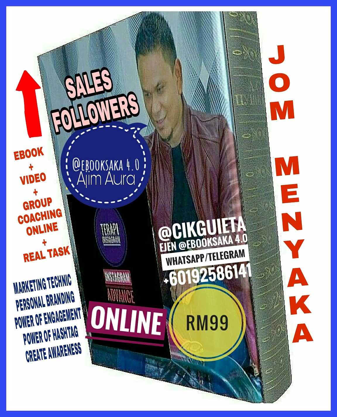 INGIN NAIKKAN SALES & FOLLOWERS?