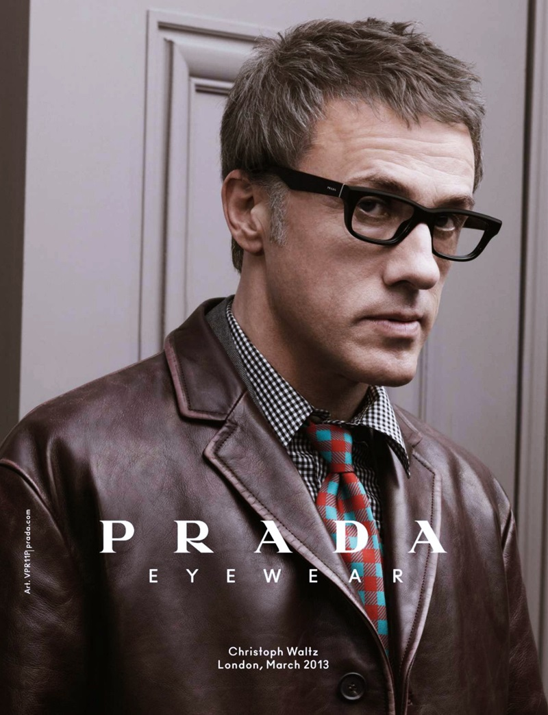 Prada Eyewear For/Men - Fall/Winter 2013/14 Campaign | Actors ...