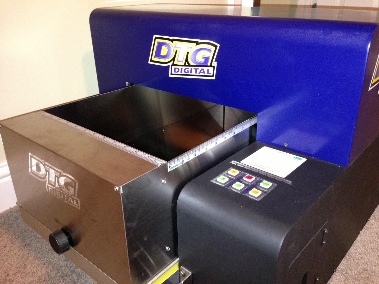 mesin cetak kaos digital DTG