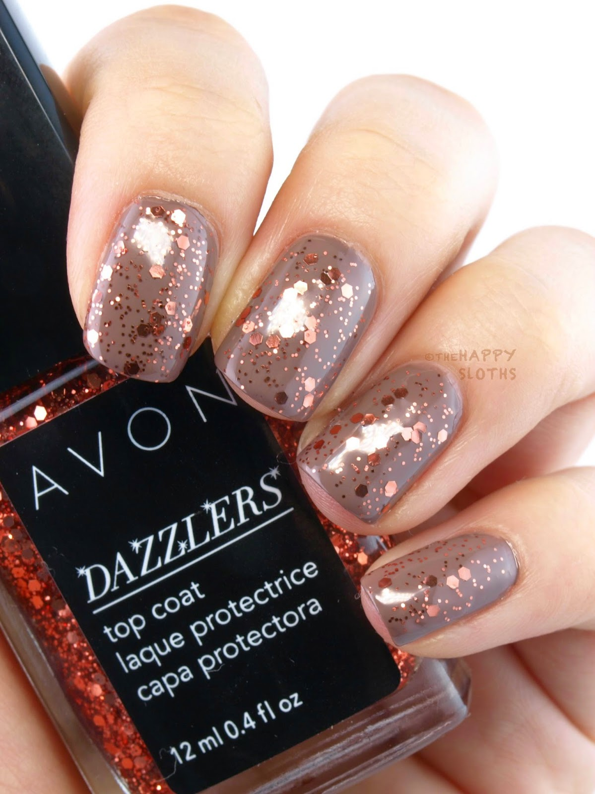 Avon Dazzlers Top Coat: Review and Swatches Va Va Violet