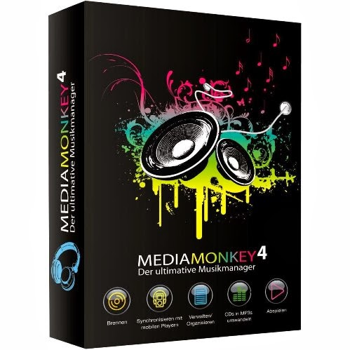 Download Software MediaMonkey Gold 4.1.0.1691 Final Multilingual Full version