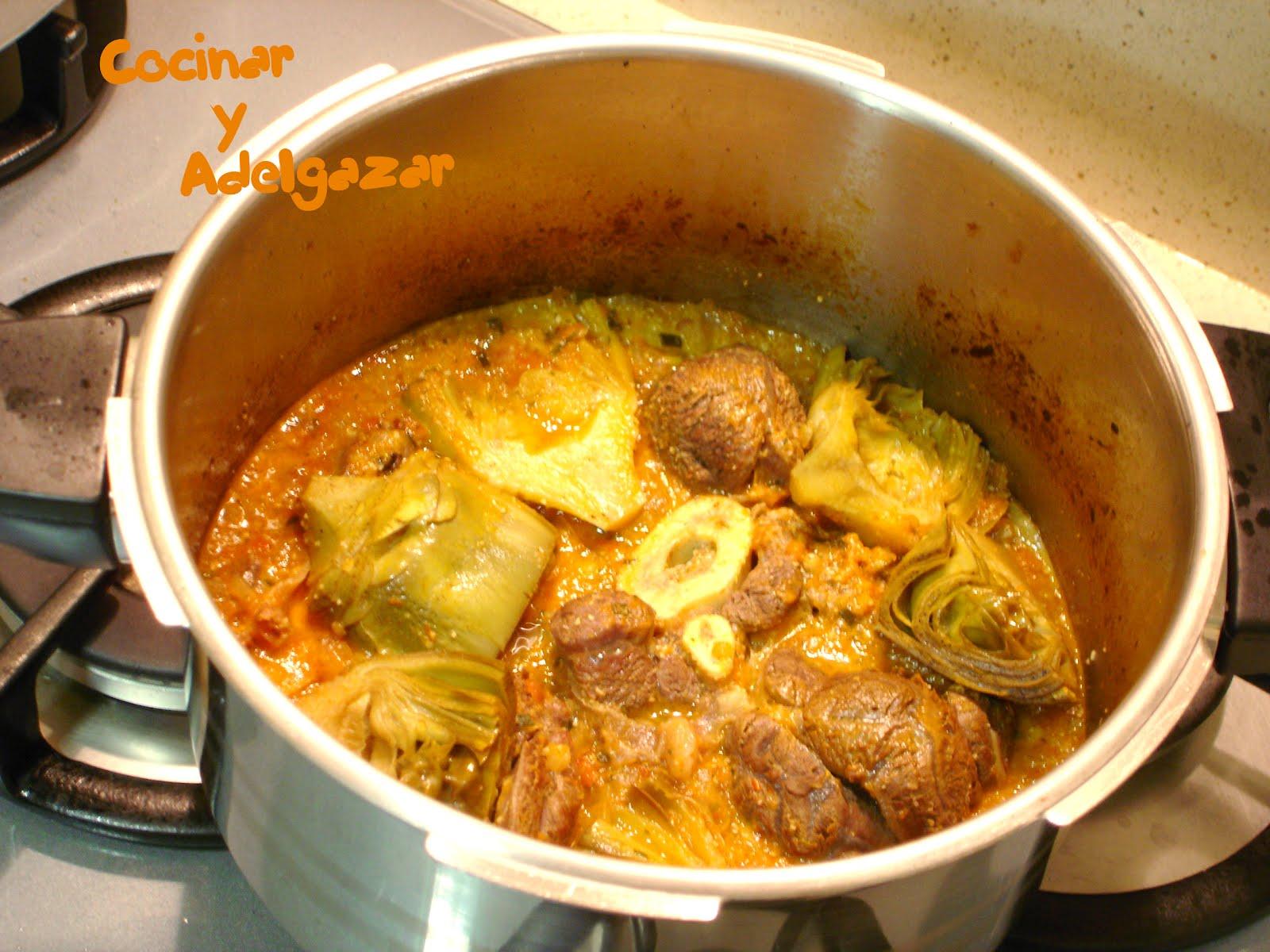 Cocinar y adelgazar osobuco con alcachofas for Cocinar y adelgazar