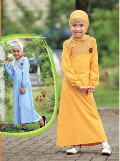 Foto Baju Muslim Anak Perempuan Masa Kini