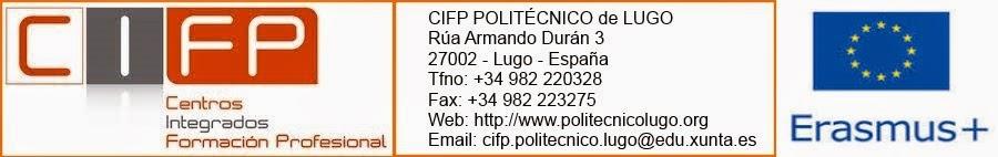 CIFP POLITECNICO LUGO - PROGRAMAS EUROPEOS
