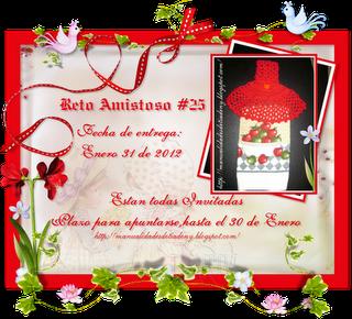 RETO AMISTOSO 25!!! CUMPLIDO!!