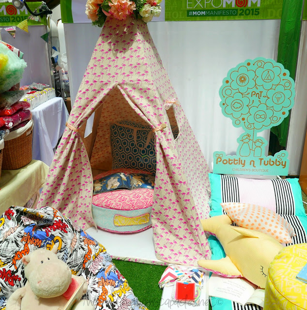 Kiddie teepee for sale at Pottly n Tubby Manila Bazaar