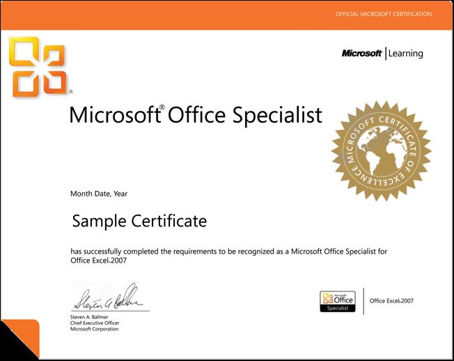 Microsoft Office Master Labtech