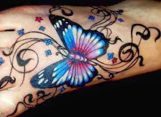 Modelos de tatuagens de borboletas