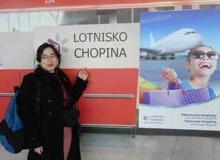 Cristina de viaje