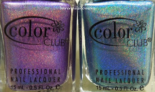 Color Club Halo Hues 2013 Eternal Beauty and Over the Moon