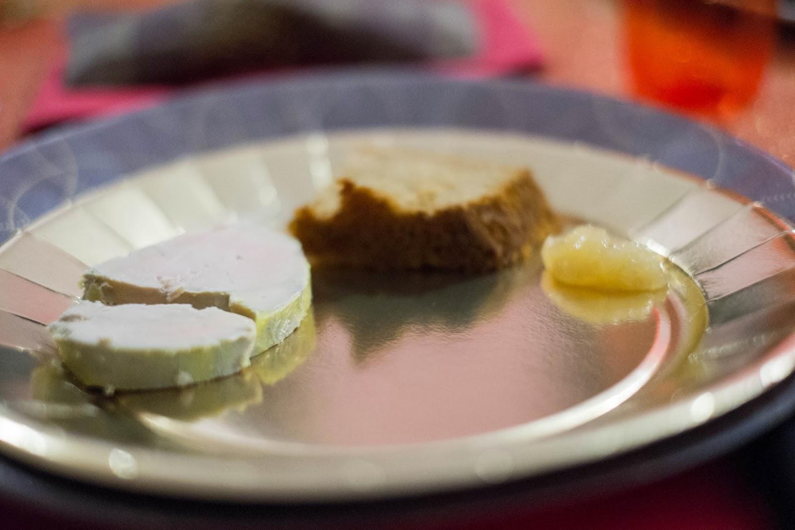 In my 39 s kitchen jingle bells foie gras vapeur et for Chutney de pommes pour foie gras
