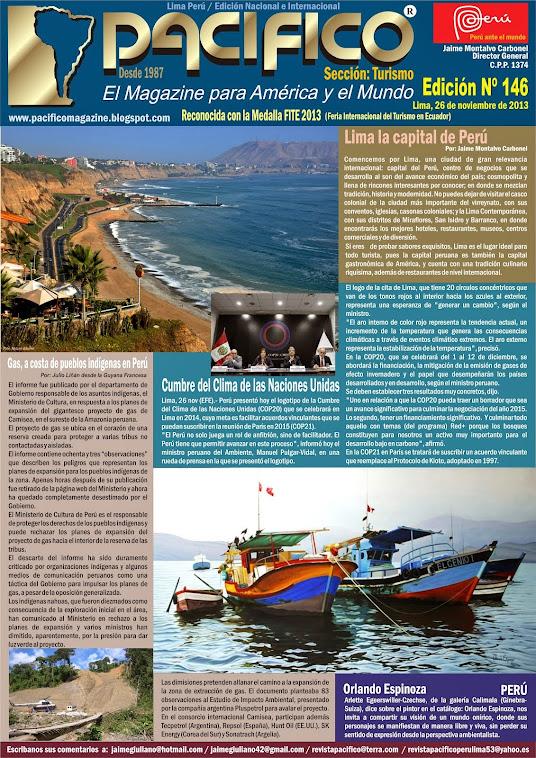 Revista Pacífico Nº 146 Turismo