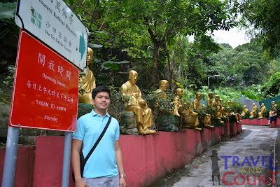 Sha Tin Golden Buddha Entrance
