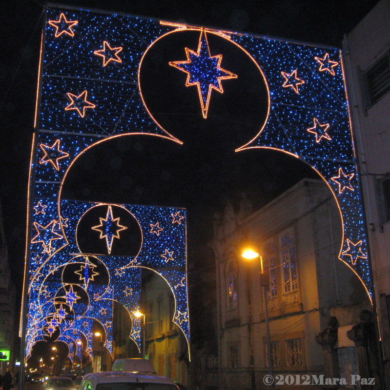 Espinho Xmas lights 2012