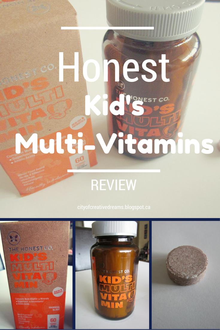 honest company multi vitamins
