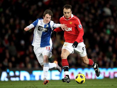 Prediksi Skor Blackburn vs Manchester United