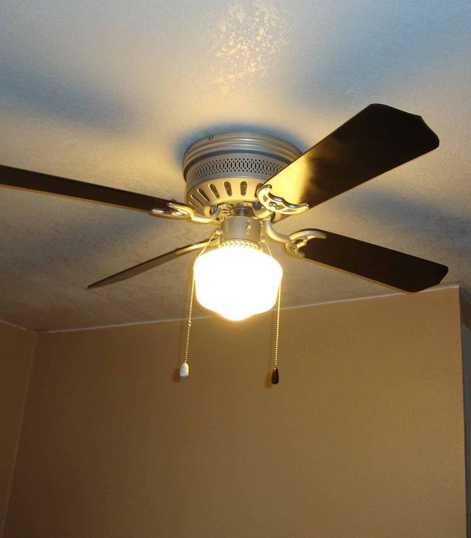 Paint Ceiling Fan : Pokeydotquilting ceiling fans and paint
