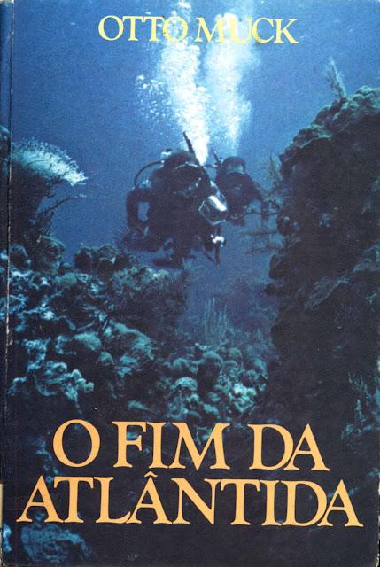 Capa do livro e pdf do livro o fim da atlantida do autor otto muck