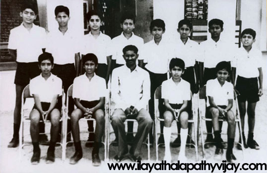 Vijay in School Age