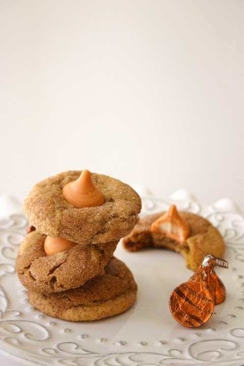 Pumpkin Spice Kiss Gingerdoodle Blossoms.